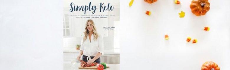 Simply keto cover book
